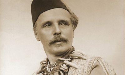 Titelbild Museumsmagazin Nr. 25: Karl May als Kara Ben Nemsi, 1896