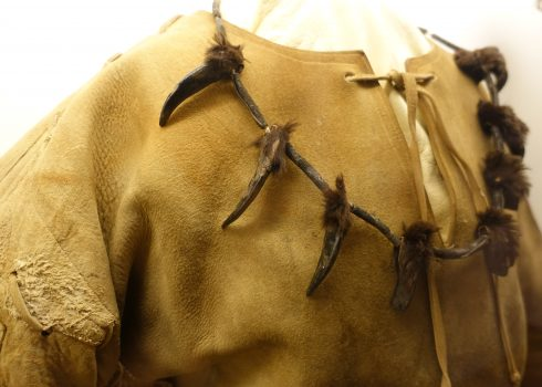 "Showcase exhibition ""Winnetou lives...!"": Winnetou costume worn by the first GDR Winnetou Jürgen Haase"