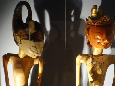 "Rod puppets ""Wayang golek"", Southeast Asia"