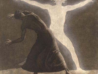 """Ölgemälde """"Chodem"""" von Sascha Schneider, 1904"""