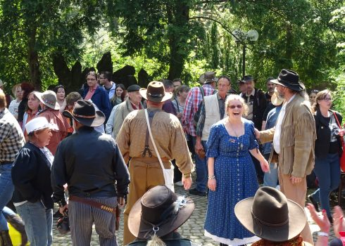 Country- und Westernfans im Karl-May-Museum